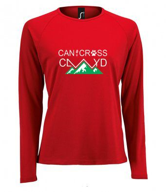 Canicross Clwyd technical Long Sleeved T-Shirt