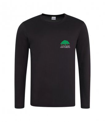 Canicross New Forest technical Long Sleeved T-Shirt