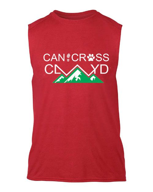 Clwyd Sleeveless casual Mens t-shirt