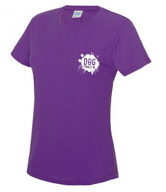 Dog Trails NI tech t-shirt with colour options