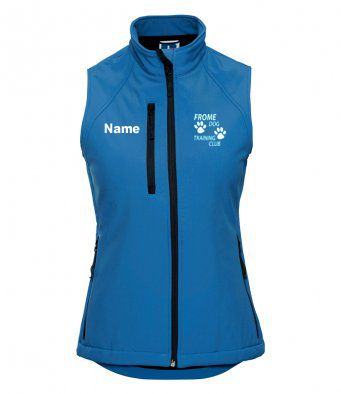 Happy Hoopers women's soft shell Gilet