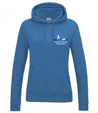 North Devon Canicross Ladies Hoodie
