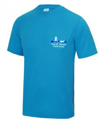 North Devon Canicross tech t-shirt