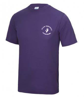 Peak District Canicross tech t-shirt