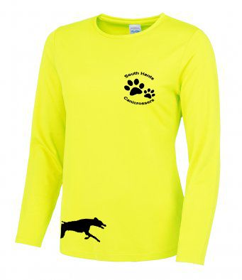 South Hants Long Sleeve Ladies Technical T-Shirt