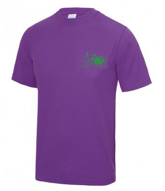 Stroud Canicross tech t-shirt, Unisex and Ladies