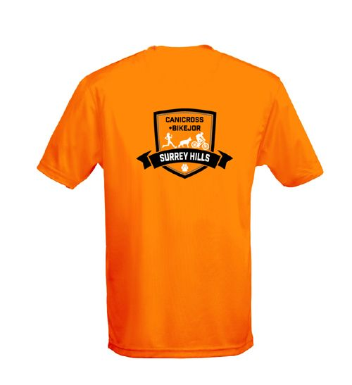 Surrey Hills Orange t-shirt