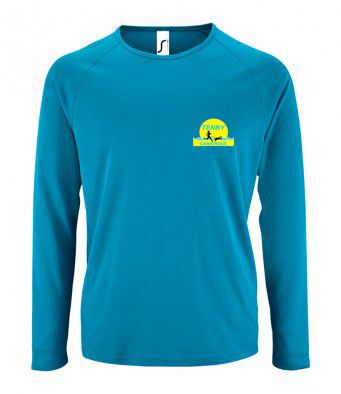 Tenby Canicross Long Sleeve Technical t-shirt