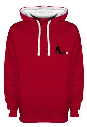Waggytail Flyball contrast Hoodie