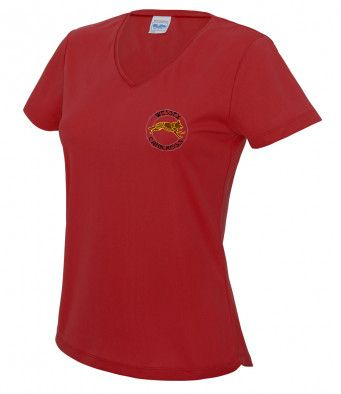Wessex Canicross Ladies Technical V-Neck