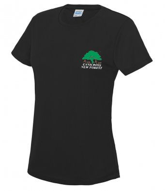 Women's Canicross New Forest Technical t-shirt