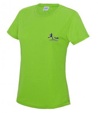 Women's Trailrunners Northants Technical t-shirt