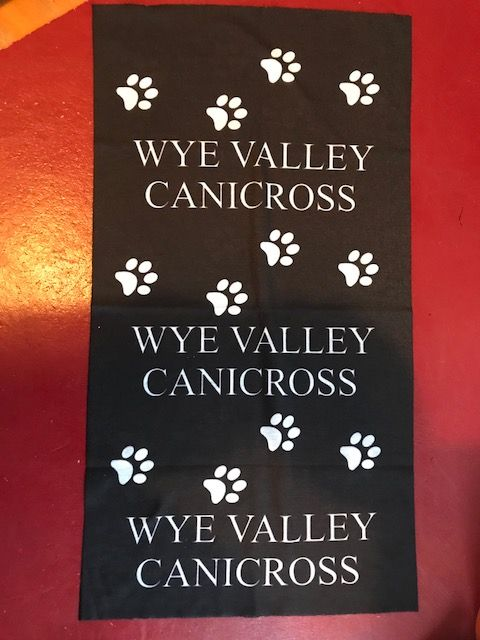 "Wye Valley Canicross ""buff type"" scarf"