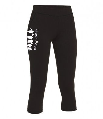 Your Pace or Mine Capri Leggings