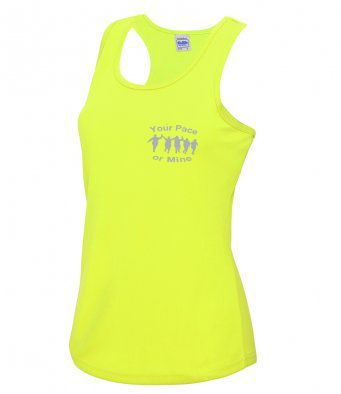 Your Pace or Mine Reflective technical Vest